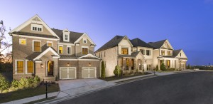 Highpointe at Vinings streetscape