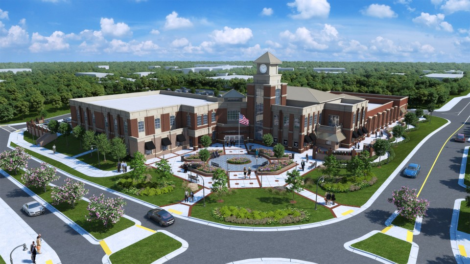 Lilburn City Hall Rendering May 2015