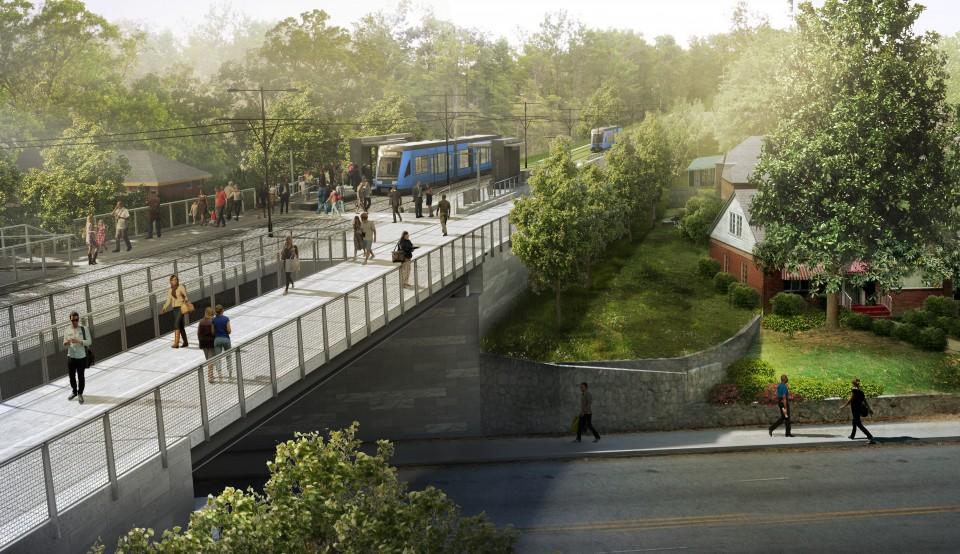 Westside Trail - MLK - trail and transit