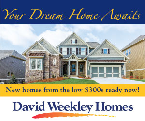 David Weekley Homes generic rectangle 6/7/17