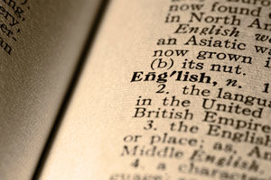 ESL- English as a second language