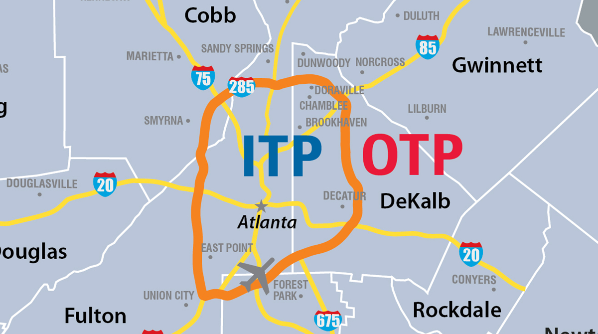 Navigating Atlanta Neighborhoods Itp Vs Otp Knowatlanta
