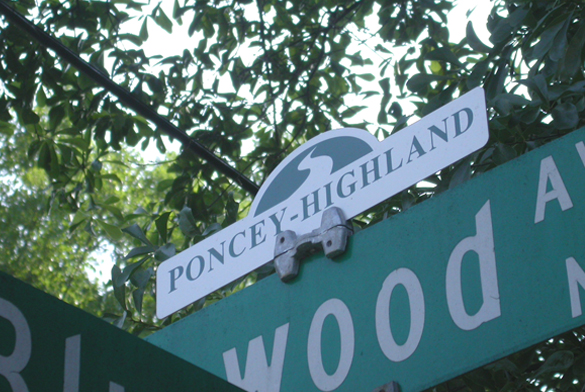 Poncey-Highland Neighborhood