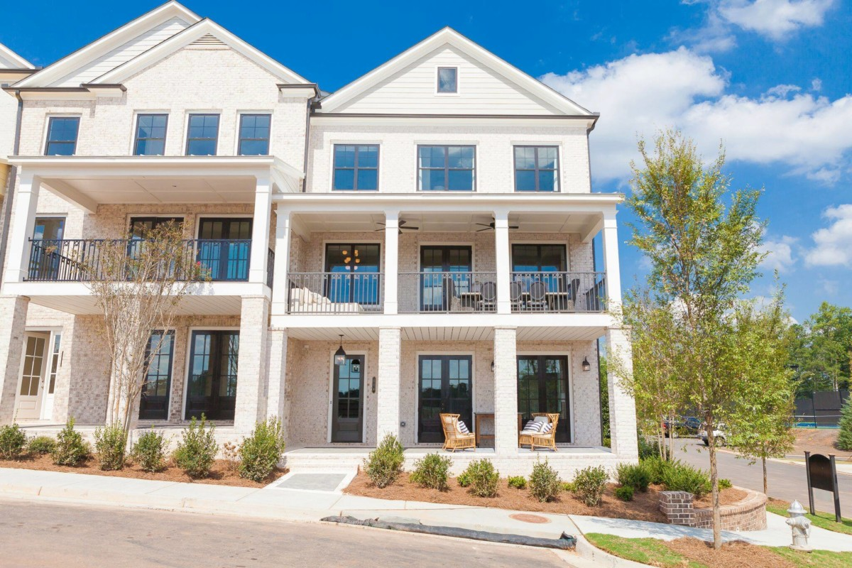 Harlow townhomes in Atlanta