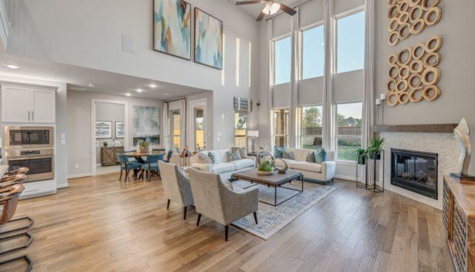 Taylor Morrison living room