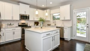 Stonebriar model kitchen at The Oaks