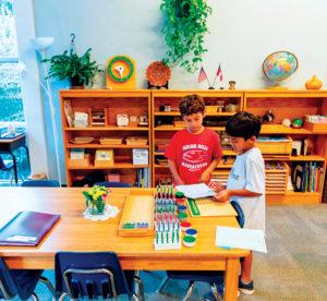 students at Springmont in Atlanta