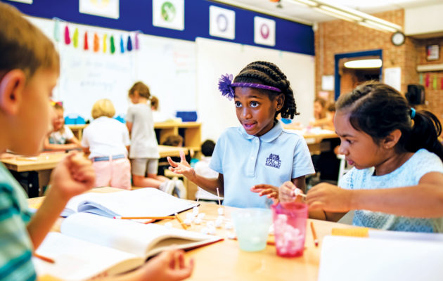 students at Pace Academy, a private school in atlanta