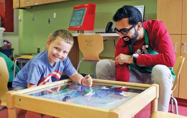 volunteering at Children's Healthcare of Atlanta