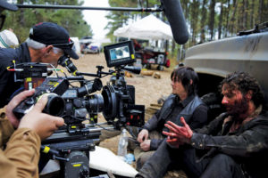 The Walking Dead filming in Atlanta